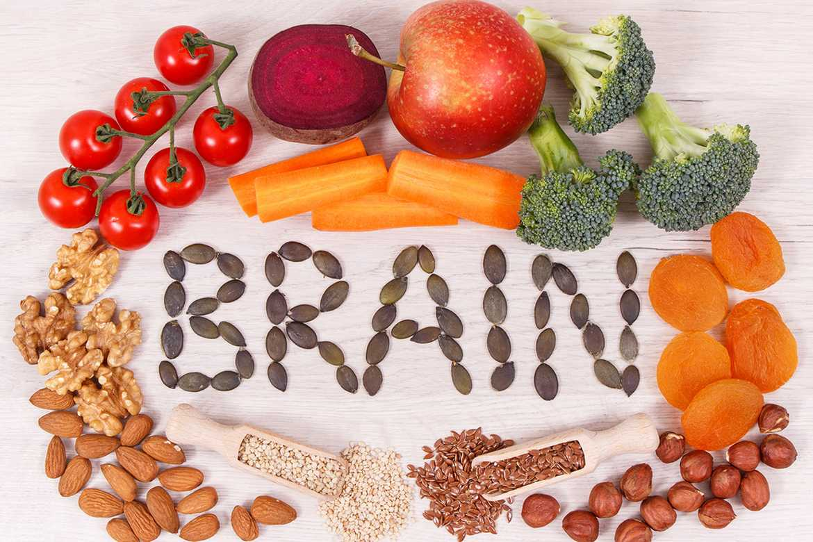 Healthy food for the brain
